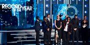 """Bruno Mars vann årets skiva för """"24 K magic"""" förra året. Matt Sayles / TT NYHETSBYRÅN/ NTB Scanpix"""