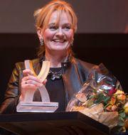 Carina Åkerström tog hem priset. Fredrik Sandberg/TT / TT NYHETSBYRÅN