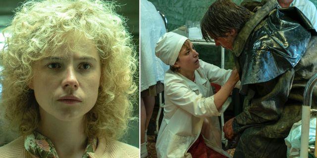 """Bilder från """"Chernobyl"""". HBO"""