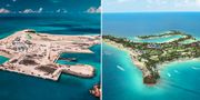 500 ton avfall har avlägsnats från Ocean Cay i Bahamas. Nu planteras nya växter och nytt marint liv. MSC Cruises