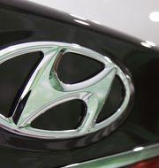 Huyndais logotyp. Arkivbild. TT