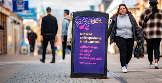 Arkivbild, Uppsala 19 april.  JONAS EKSTROMER / TT NYHETSBYRÅN