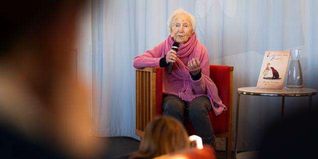 Hédi Fried. Naina Helén Jåma/TT / TT NYHETSBYRÅN