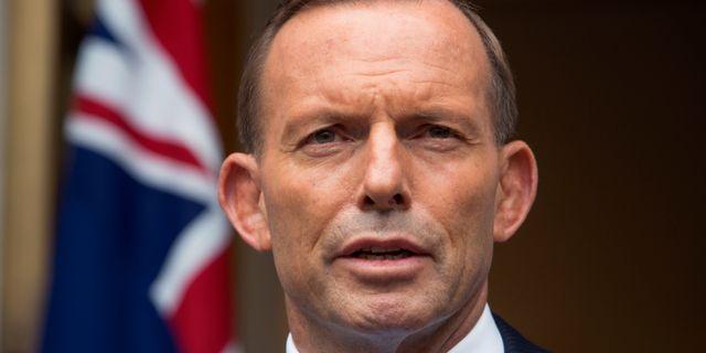 Tony Abbott Andrew Taylor / TT NYHETSBYRÅN