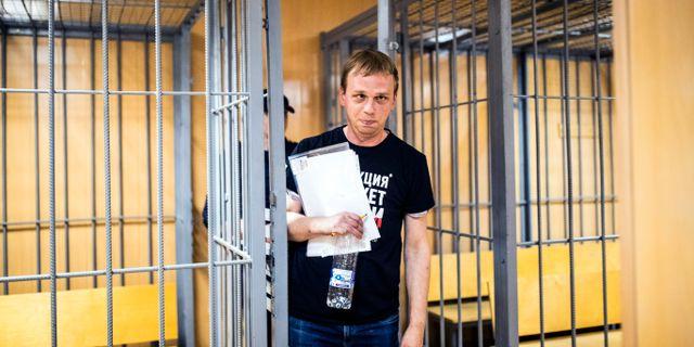 Ivan Golunov. Evgeny Feldman / TT NYHETSBYRÅN