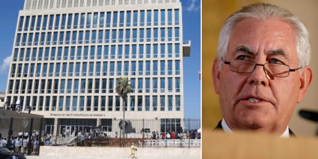 USA:s ambassad i Havanna/Rex Tillerson. TT