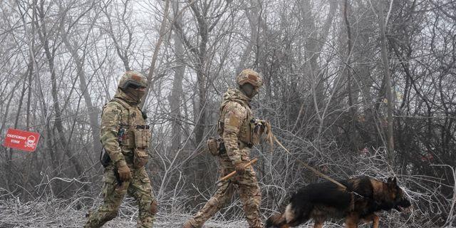 Ukrainska soldater. Illustrationsbild. Evgeniy Maloletka / TT NYHETSBYRÅN