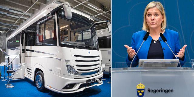 Illustrationsbild. Finansminister Magdalena Andersson.  TT