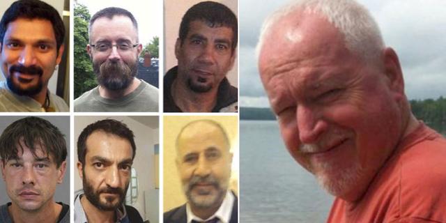 Sex av de män som McArthur misstänks ha dödat/Bruce McArthur.