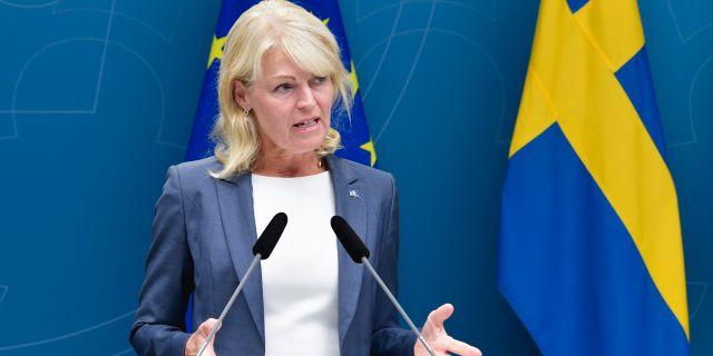 Anna Hallberg. Jessica Gow/TT / TT NYHETSBYRÅN