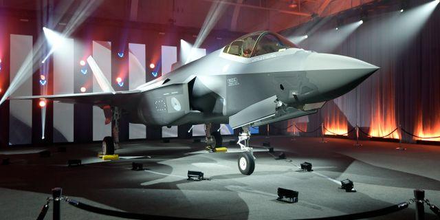 Lockheed Martin F-35. Max Faulkner / TT NYHETSBYRÅN/ NTB Scanpix