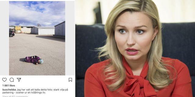 Instagramdump och Ebba Busch Thor  TT