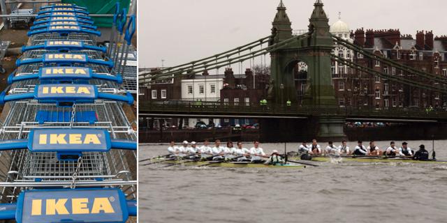 Hammersmith Bridge. TT.