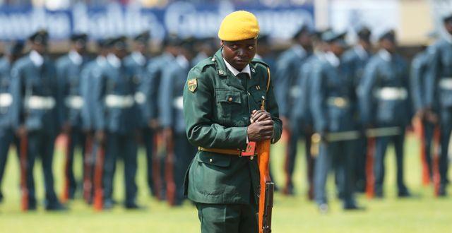 Tsvangirayi Mukwazhi / TT NYHETSBYRÅN