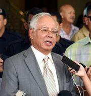 Malaysias tidigare premiärminister Najib Razak. Yam G-Jun / TT NYHETSBYRÅN