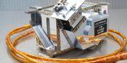 Det svenska instrumentet togs med när den kinesiska rymdsonden landade på månen tidigare i år.  Martin Wieser, IRF / TT NYHETSBYRÅN