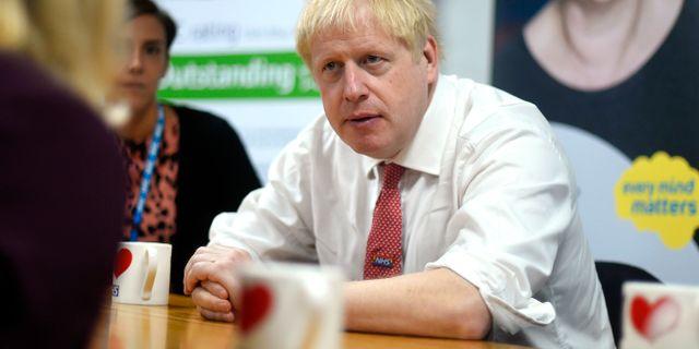 Boris Johnson Peter Summers / TT NYHETSBYRÅN