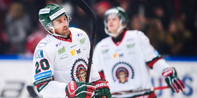 Frölundas Joel Lundqvist.  DENNIS YLIKANGAS / BILDBYR N