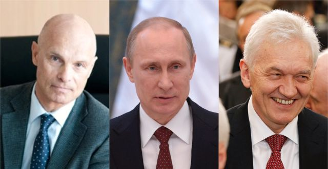 Torbjörn Törnqvist, Vladimir Putin och Gennady Timchenko
