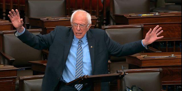 Bernie Sanders. TT NYHETSBYRÅN