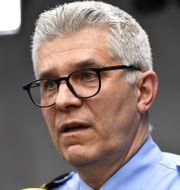 Rikspolischef Anders Thornberg. Henrik Montgomery/TT / TT NYHETSBYRÅN