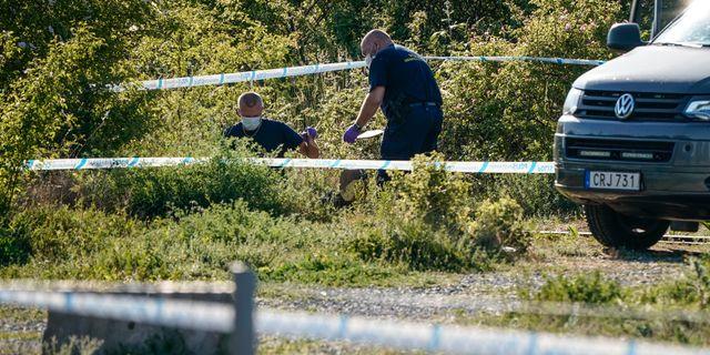Polisen arbetar efter överfallsvåldtäkten som inträffade 2 maj. Johan Nilsson/TT / TT NYHETSBYRÅN