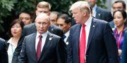 Putin och Trump. Jorge Silva / TT NYHETSBYRÅN