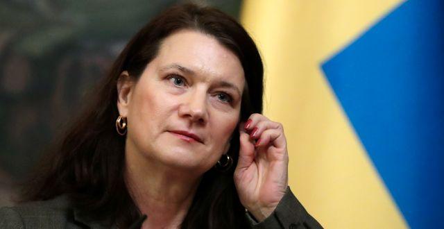 Ann Linde. EVGENIA NOVOZHENINA / TT NYHETSBYRÅN