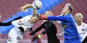 Match mellan FC Rosengård och Göteborg. Björn Larsson Rosvall/TT / TT NYHETSBYRÅN