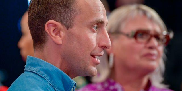 Tomas Tobé (M) och Soraya Post (Fi). Anders Wiklund/TT / TT NYHETSBYRÅN