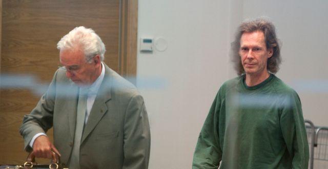 Ulf Borgström till höger.  Stig-Åke Jönsson / SCANPIX SWEDEN