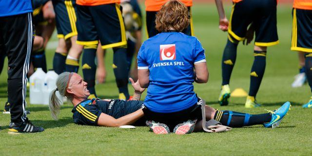 Kahn lamnar landslaget