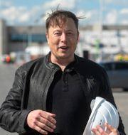 Elon Musk. Christophe Gateau / TT NYHETSBYRÅN