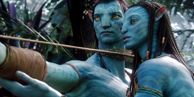"""Bild från den första """"Avatar""""- filmen som gick upp på bio 2009.  WETA / TT NYHETSBYRÅN"""