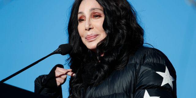 Cher. John Locher / TT / NTB Scanpix