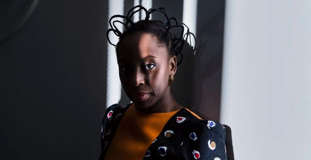 Chimamanda Ngozi Adichie. Vilhelm Stokstad / TT / TT NYHETSBYRÅN