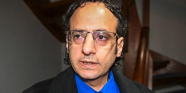 Abdul Malik al-Hajry. Stina Stjernkvist/TT / TT NYHETSBYRÅN