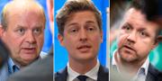 Eskil Erlandsson, Emil Källström och Fredrick Federley uppges alla ha förespråkat Ulf Kristersson som statsminister. TT