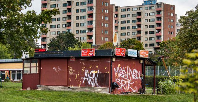 Fittja, utanför Stockholm. Arkivbild. Claudio Bresciani/TT / TT NYHETSBYRÅN
