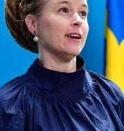 Kulturminister Amanda Lind Jonas Ekströmer/TT / TT NYHETSBYRÅN