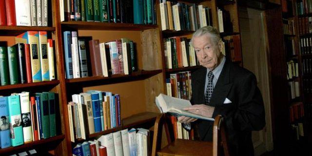 Göran Malmqvist, arkivbild. Svenska Akademien