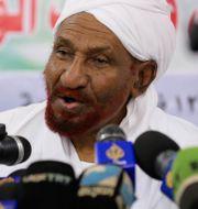 Sadiq al-Mahdi Marwan Ali / TT NYHETSBYRÅN