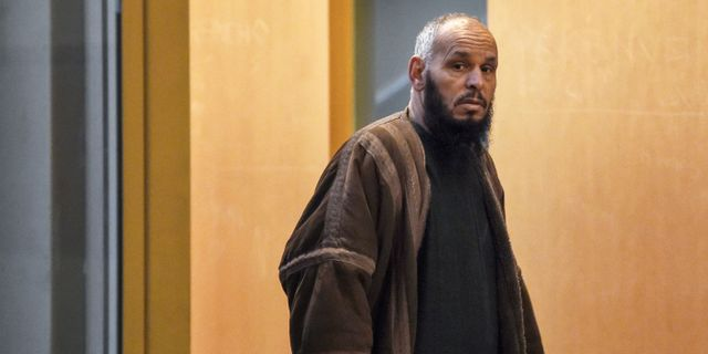 El Hadi Doudi.  ANNE-CHRISTINE POUJOULAT / AFP