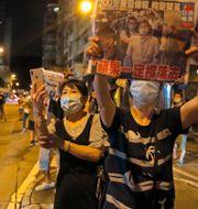 Protester i Hongkong. Arkivbild. Kin Cheung / TT NYHETSBYRÅN