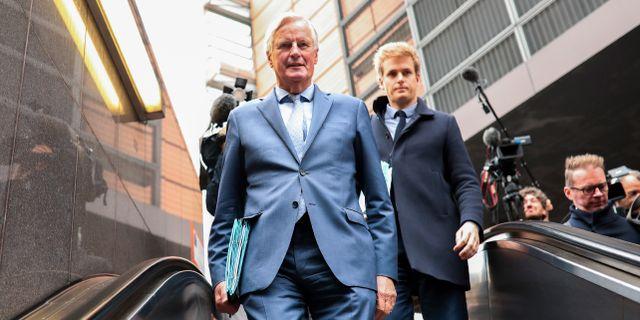 Michel Barnier.  Francisco Seco / TT NYHETSBYRÅN