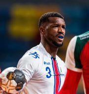 Kap Verde under första matchen mot Ungern. MATHIAS BERGELD / BILDBYRÅN