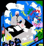 Bloomberg: illustration by Kati Szilágyi