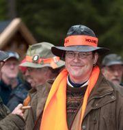 Dåvarande finansminister Anders Borg deltar i jakt i Malingsbo-Kloten 2009. Jakten som brottsutredningen berör ska han skett efter Anders Borg slutade som finansminister 2014. FREDRIK SANDBERG / TT / TT NYHETSBYRÅN