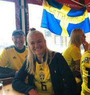 Pernille Harder är på plats. Marie Carlsson /TT / TT NYHETSBYRÅN