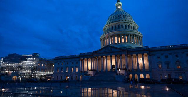 Senaten samlas i Capitolium i Washington. ERIN SCOTT / TT NYHETSBYRÅN